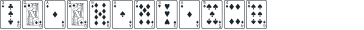 Font Name: PlayingCards